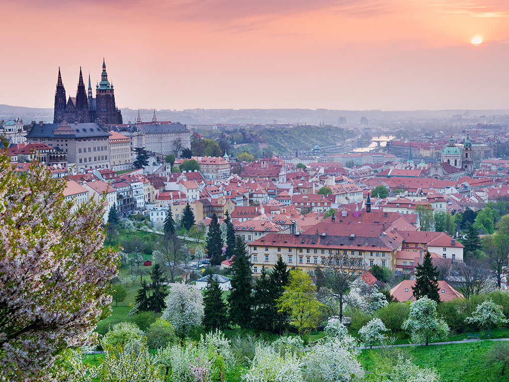 Prague Castle and Malá Strana (the Lesser Town)